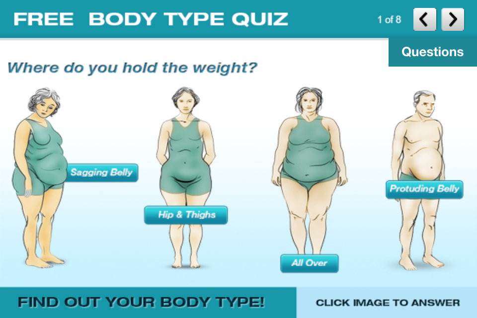 Dr. Berg's Body Type Quiz (ios)