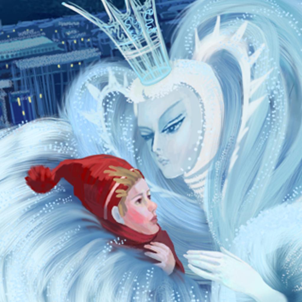 mzl.pzkolqzi The Snow Queen, Animated Story by Saturn Animation Studios Inc.   Review